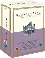 DOWNTON ABBEY DOWNTOWN ABBEY COMPLETE SEASON SERIES 1+2+3+4+5+6 DVD Box Set