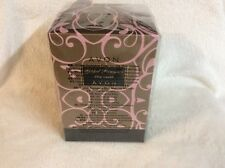 Avon Gilded Romance Pillar Candle With Holder New