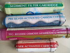 RO INLINER AQUAGUARD Sediment+Pre&Post Carbon+Membrane+9 Elbow (MRP Rs.- 3700/-)