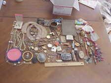 Junk Drawer Lot ~ Jewelry Vintage ~ Other unusual things ~ Pendants earrings