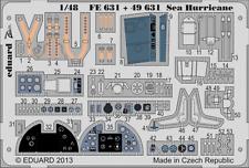 Eduard Zoom FE631 1/48 Hawker Mar huracán Italeri