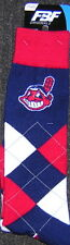 Cleveland Indians Chief Wahoo Argyle Unisex Crew Cut Socks - One Size Fits Most