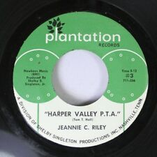 Country 45 Jeannie C. Riley - Harper Valley P.T.A. / Yesterday All Day Long Toda