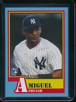 2018 Topps Throwback Thursday Miguel Andujar RC Card #125 Rookie SP