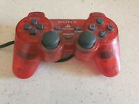 Sony PS2 Red Controller