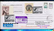 66854) LH SF Wien - Frankfurt - NAPOSTA 21.5.2001, GAU Russland Rossija