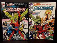 MARVEL SPOTLIGHT #1-2 STAR JAMMERS 1st Print Graphic Novel Comics Lot 1990 NM