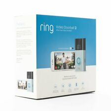 Latest Brand New Ring Doorbell 2 - 1080 Hd WiFi Factory Sealed! Not Refurbished