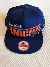 Original New Era Marvels Limited Edition Collectable Item Knicks Snap Back Cap