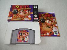 Worms Armageddon Nintendo 64 N64 Spiel komplett CIB