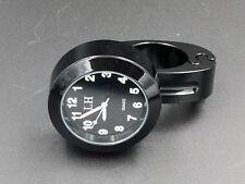 """7/8""""-1"""" Motorcycle Handlebar Clock For HONDA Yamaha Harley Kawasaki VT Motor"""