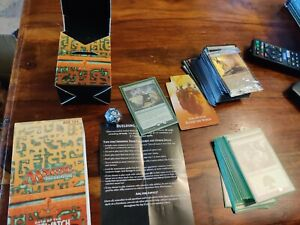 Magic the gathering Game Opened