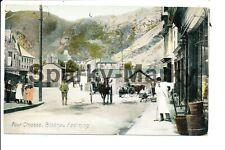 More details for wales four crosses blaenau festiniog vintage postcard z02