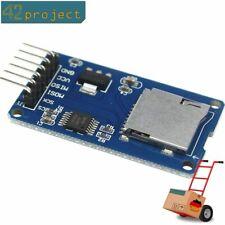 micro SD TF Card Memory Modul SPI Karte slot cardreader für Arduino Datenlogger