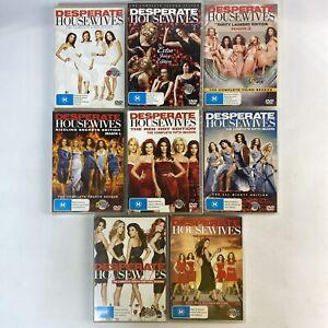 Desperate Housewives Seasons 1-8 Region 4 DVD Wisteria Lane