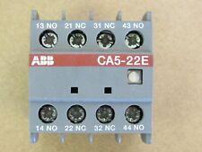 Abb Auxiliary Contactor Ca5 22e