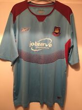 *XL* 2004/06 WEST HAM Away Reebok Football Shirt