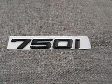Schwarz Nummer Briefe Kofferraum Emblem Abziehbild Aufkleber für BMW 750i