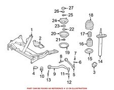 For BMW Genuine Suspension Control Arm Cover Bolt Front Lower 31106769441