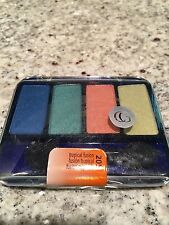 CoverGirl Eye Enhancers TROPICAL FUSION Eyeshadow Quad New