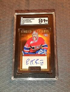 Patrick Roy 2013-14 Panini Storied Signatures Autograph Montreal Canadiens 38/50
