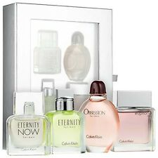 CALVIN KLEIN CK ETERNITY NOW EUPHORIA OBSESSION 4PC men Gift Set cologne perfume