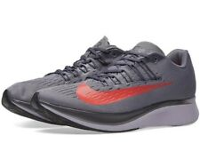 🚨 MEN NIKE ZOOM FLY MENS RUNNING SHOES GREY BRIGHT CRIMSON 880848-004 SIZE 13