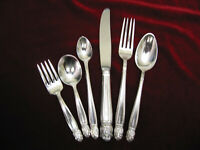 DANISH PRINCESS Silverplate Baby to Youth Set Holmes & Edwards Flatware 6pc Lot