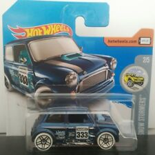 MINI MORRIS CLASICO HOT WHEELS COCHE METAL ESCALA COLECCION CAST 1:64