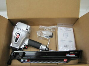 """Grip-Rite GRTFR83 Reconditioned 3-1/4"""" 21 Plastic Framing Nailer w/ Accessories"""