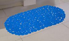 Pebble Non Anti Slip Pad Bath Shower Mat Large Bathroom Bathtub Suction PVC UK