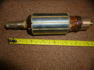 Lucas  6V Dynamo armature e3l bsa ariel norton magdyno type 60w