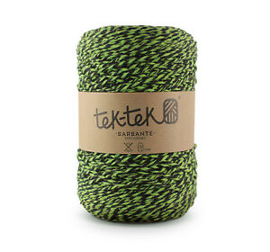 Crafting Cotton 6ply GREEN MIX New Cotton Knit Crochet Weave 220m washable