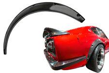 2x Radlauf Verbreiterung CARBON Lack Kotflügelverbreiterung für Opel Speedster