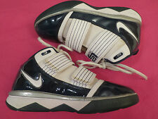 Nike Lebron James Soldier III Basketball Shoes Navy Blue & White  Womens  8.5
