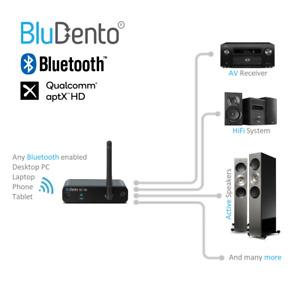 5.0 aptX HD True HiFi Bluetooth Music Receiver Long Range Burr Brown Audio DAC