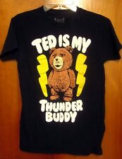 TED IS MY THUNDER BUDDY small T shirt Seth MacFarlane teddy bear movie tee 2012
