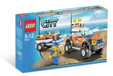 *NEW* Lego City COAST GUARD 4WD & JET SCOOTER 7737