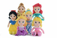 "DISNEY PRINCESS - SOFT TOY - RAG DOLL - 12"" (30CM), LICENCED, BRAND NEW"