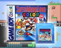 Super Mario Land 1 DX Game Colorized Remastered Nintendo Gameboy GBC Deluxe USA