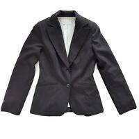 Portmans Size 8 Black Work Corporate Jacket Blazer Women's