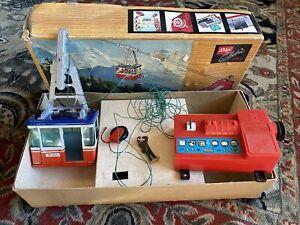 Vint RIGI 900 E Electric Tin GONDOLA CABLE SKI LIFT CAR RAILWAY; LEHMANN Germany