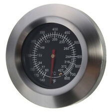 BBQ Smoker Grill Stainless Steel Thermometer Temperature Gauge 60℃-427℃ SS