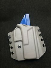 Kydex Holster, Glock 19 /19x /23/25/45 OWB  Gray and Blue