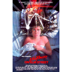 "Nightmare on Elm Street– Movie Poster – Wes Craven 1984 – 91 x 61 cm 36"" x 24"""