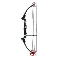 11417 Mathews Genesis MINI Youth Bow RH Black Red Cams