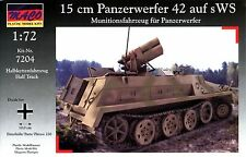 MACO 1/72 7204 WWII German sWS with 15 cm Panzerwerfer 42 Rocket Launcher