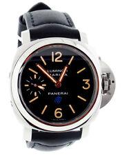 Panerai Luminor Marina Logo Acciaio 44MM Automatic Men Watch PAM00631 New Orig