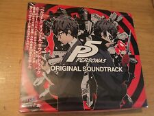 OFFICIAL PERSONA 5 ORIGINAL 3CD SOUNDTRACK OST - BRAND NEW AND FACTORY SEALED