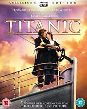 TITANIC 3D + 2D Blu-Ray 4 Disc Set BRAND NEW Free Ship